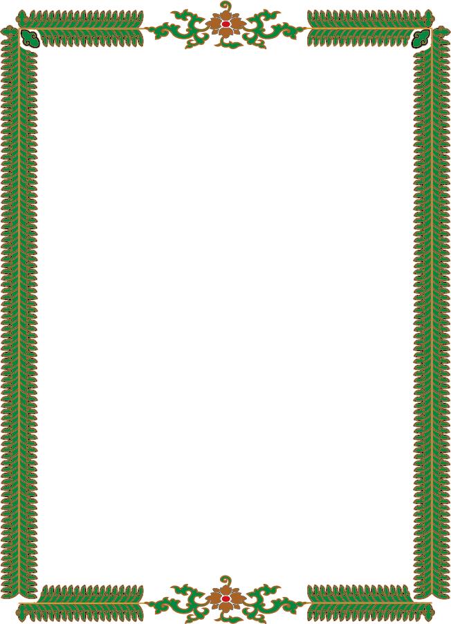 実用的なフレーム50種 simple and practical border イラスト素材4