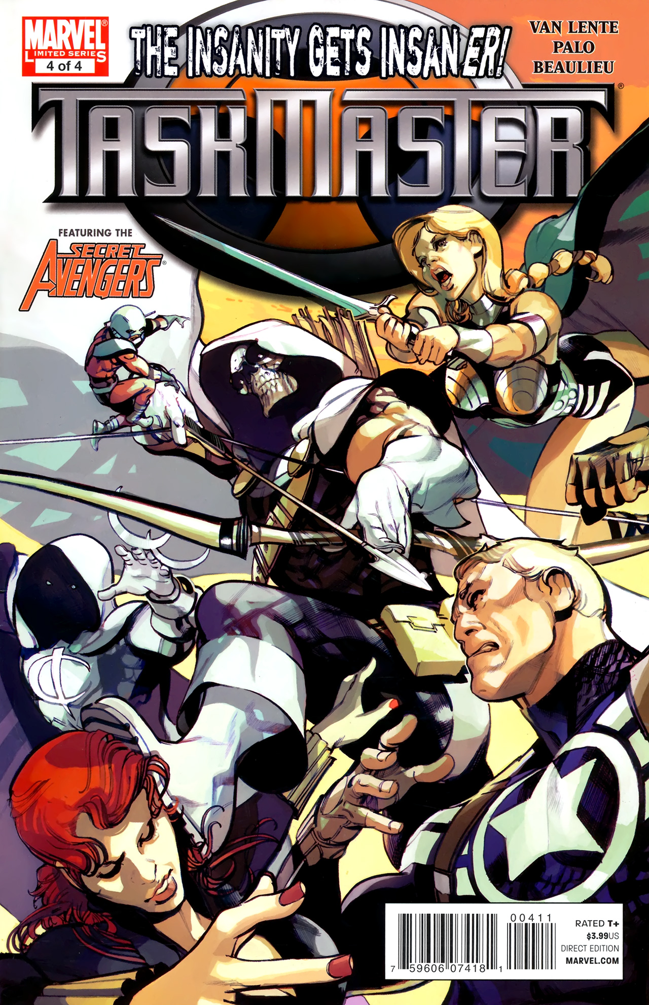 Read online Taskmaster (2010) comic -  Issue #4 - 1