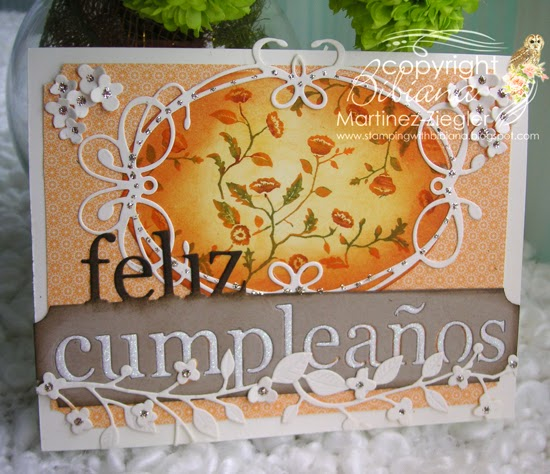 fall happy birthday front card