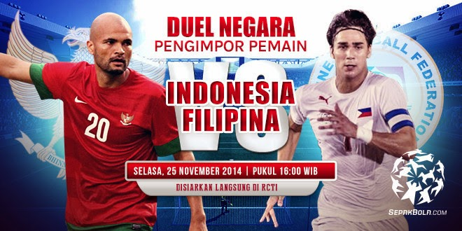 Filipina vs Timnas Indonesia Piala AFF CUP 2014