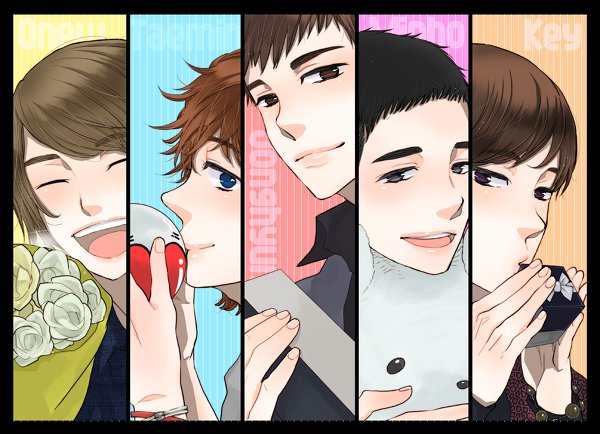[FanArt] SHINee en general :3 249462_164378990293921_100001654638428_433774_6653143_n