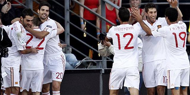 España camepon europa sub 21
