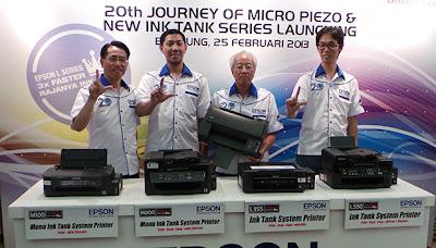 """Epson Rilis 4 Printer """"Infus"""" Terbaru Untuk Kantor"""