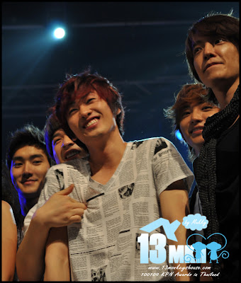 Foto foto lucu Super Junior