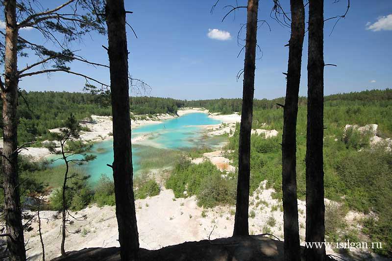 Бали - каолиновый карьер. Челябинская область.