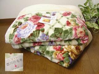 kebutuhan pengungsi selimut jepang