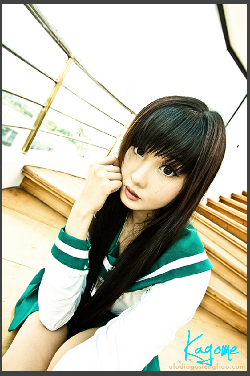 ... too mature as Kagome, but Alodia has created a very beautiful Kagome ...