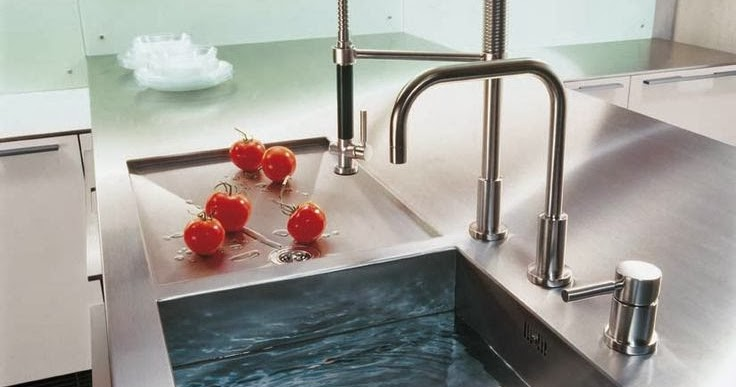 Wastafel idea for minimalist kitchen design modern home for Wastafel kitchen set