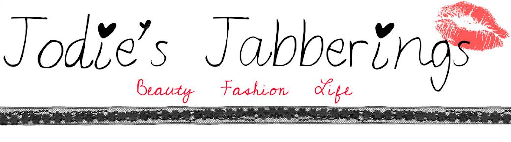 Jodie's Jabberings