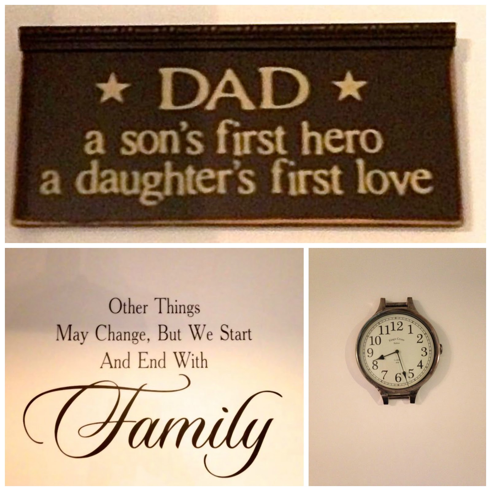 Personalised Decal Wall Hanging