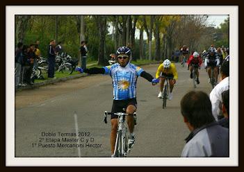 Ciclistas del Club Pista y Ruta