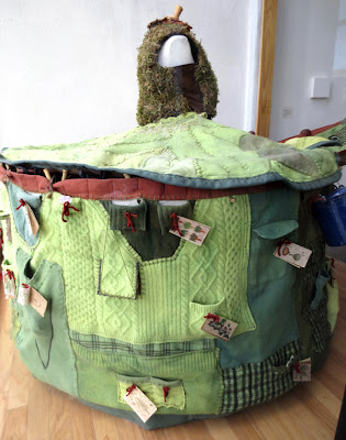 Eco yurt dress