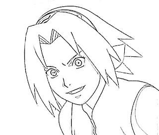 Sakura Haruno Sketch