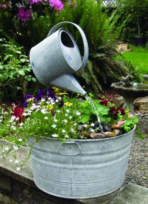 droite : Comment détourner des boites de conserve en pot de fleur ...