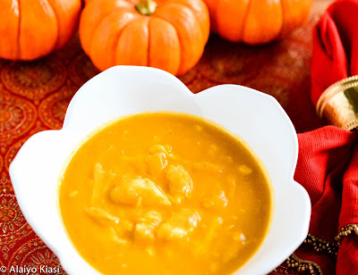 Pumpkin Crab Soup--Pescetarian Journal