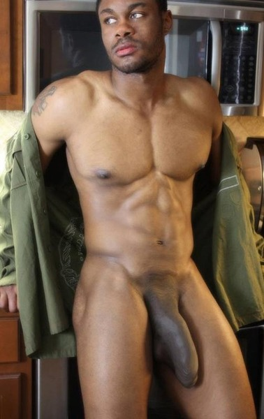 hunk riding black dick