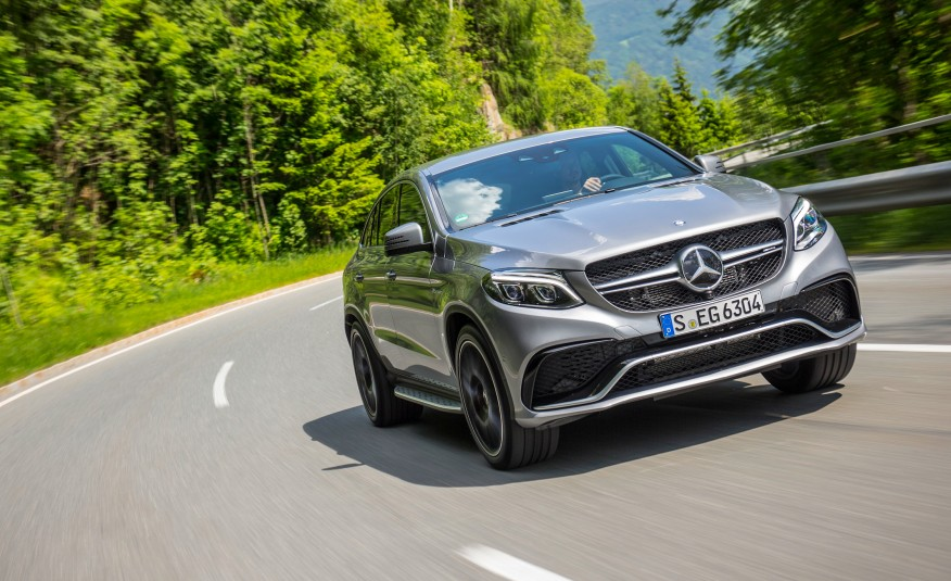2016 Mercedes Benz GLE-class Coupe - just 4 speeed