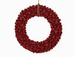Coronas Navideñas Rojas, parte 1