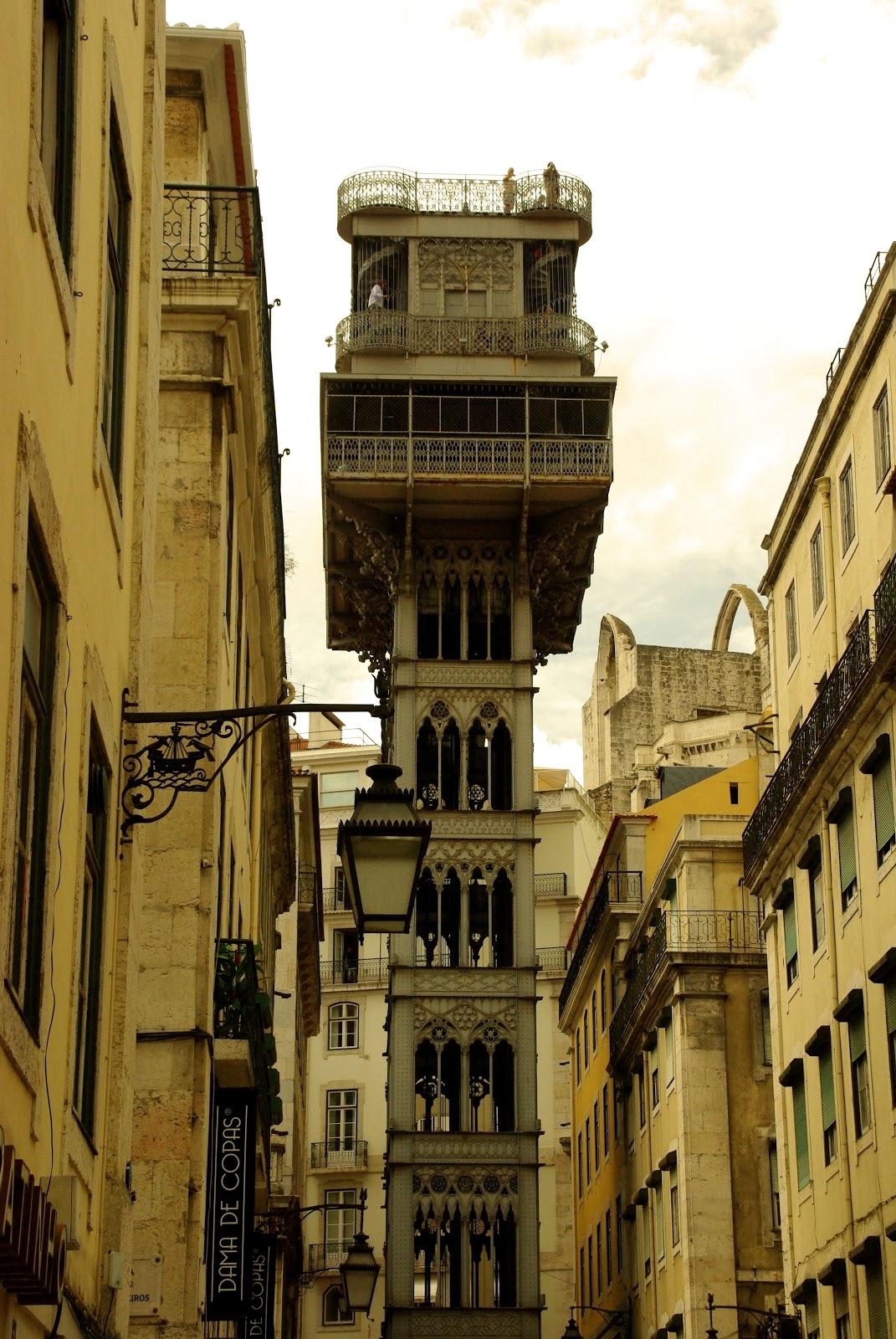 Elevador de Santa Justa  Lisbon