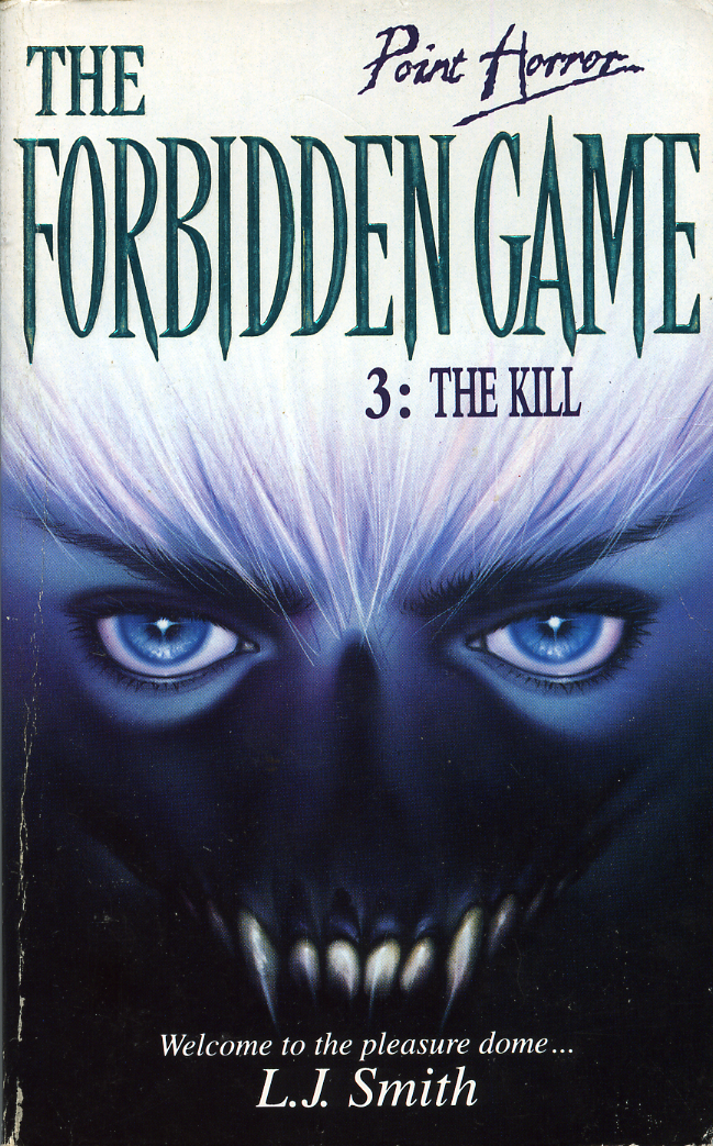 the forbidden game l. j. smith book cover