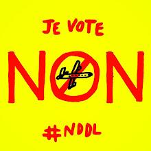 #NDDL #26juin #Non