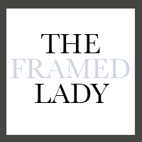 the framed lady