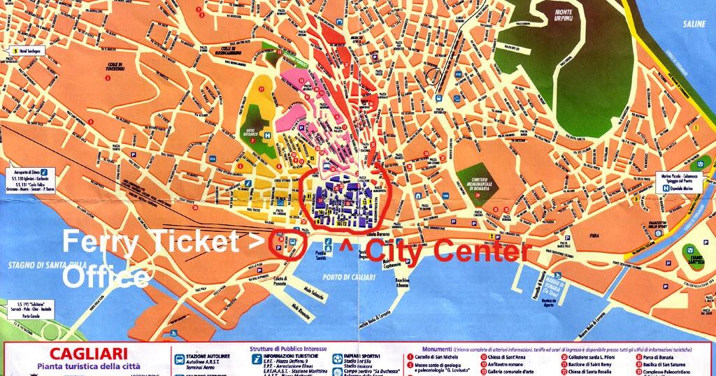 recensioni evasioni cagliari map - photo#4