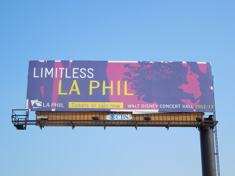 Limitless LA Phil 2012 billboard