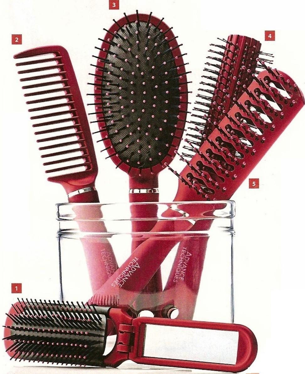 Spazzola avon capelli lisci