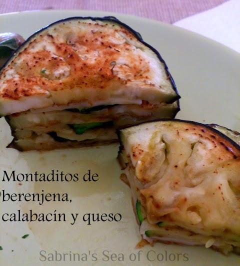 Berenjena, Calabacín y Queso. Receta Express