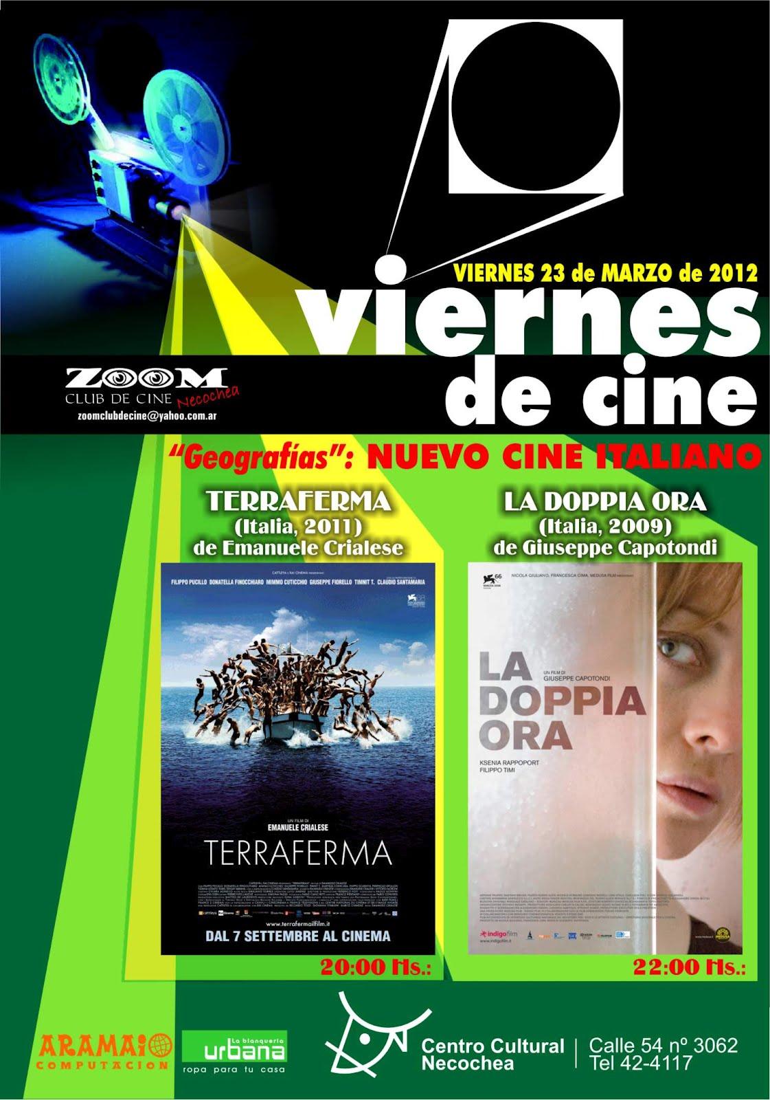 Viernes de Cine en el Centro Cultural Necochea