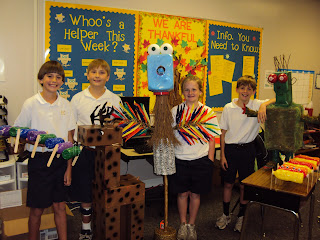 Montgomery Catholic Students Use Imaginations in Science 1