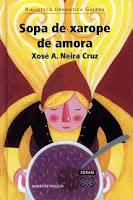 Cuberta do libro Sopa de xarope de amora