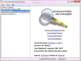 Enchanted Keyfinder