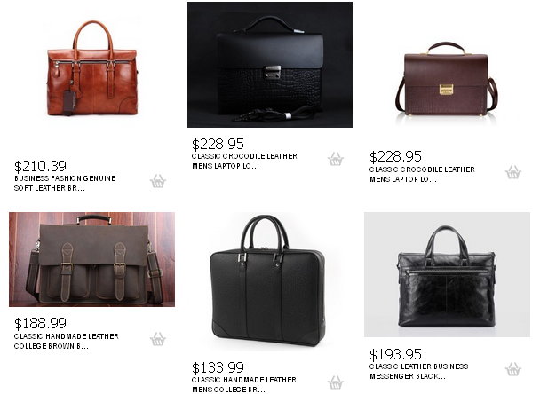 stylish leather briefcases for men