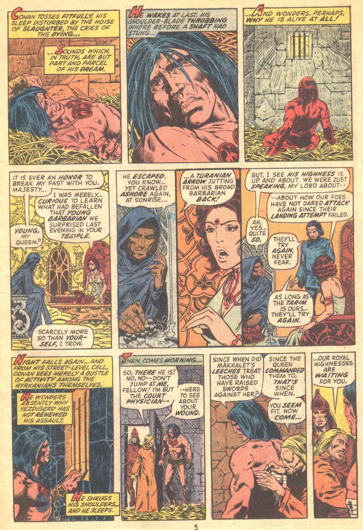 Conan the Barbarian (1970) Issue #21 #33 - English 5