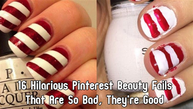16 Hilarious Pinterest Beauty Fails That Are So Bad, They're Good