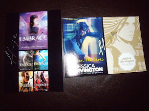 SIGNED SWAG - JESSICA SHIRVINGTON GIVEAWAYS