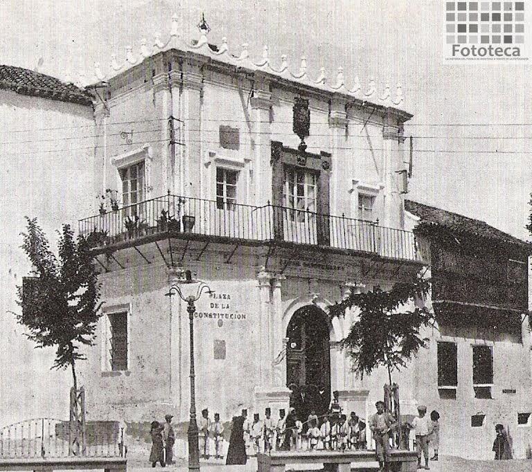 Ayuntamiento de Montoro. Años 20