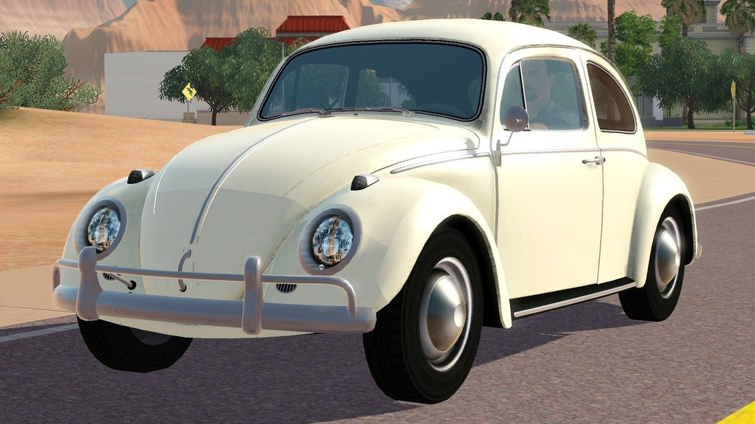 sims  blog  volkswagen beetle  understrech imagination
