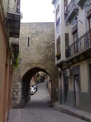 Jaén turismo arco de San Lorenzo