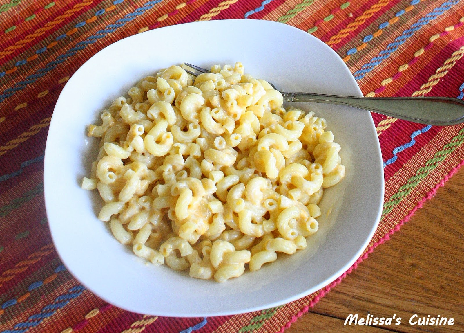 Melissa's Cuisine: 3 Ingredient Mac and Cheese