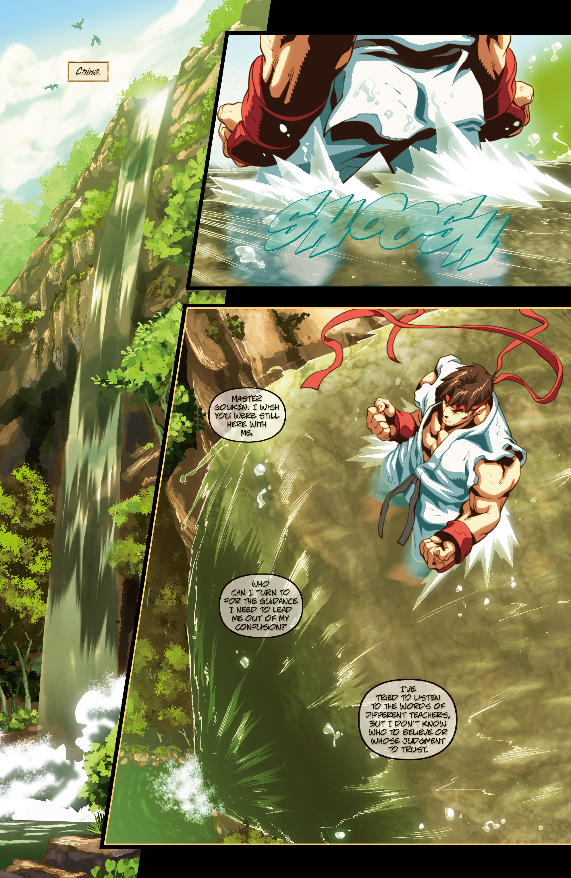 Street Fighter II chap 6 pic 4