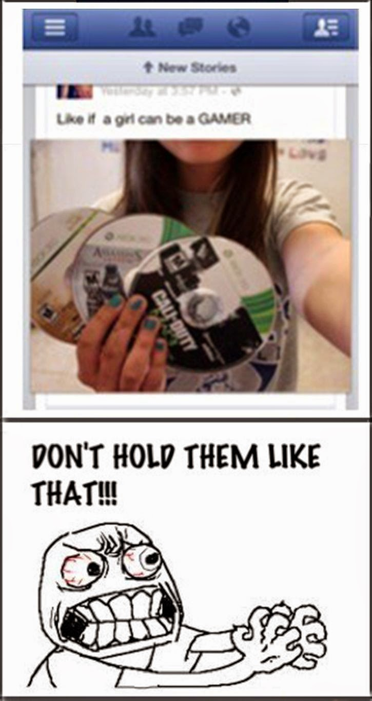girls and games funny pic