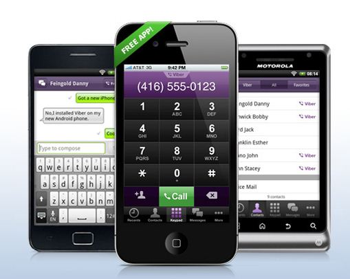 viber free phone calls text for android and iphone free calls sms