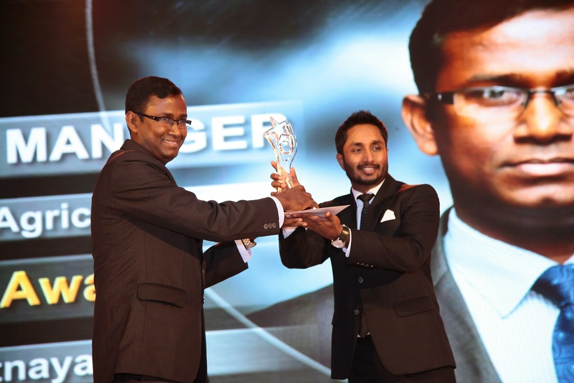 Upali Ratnayake wins the NASCO Bronze medal in the Territory Manager category.
