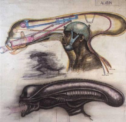 Alien mask design
