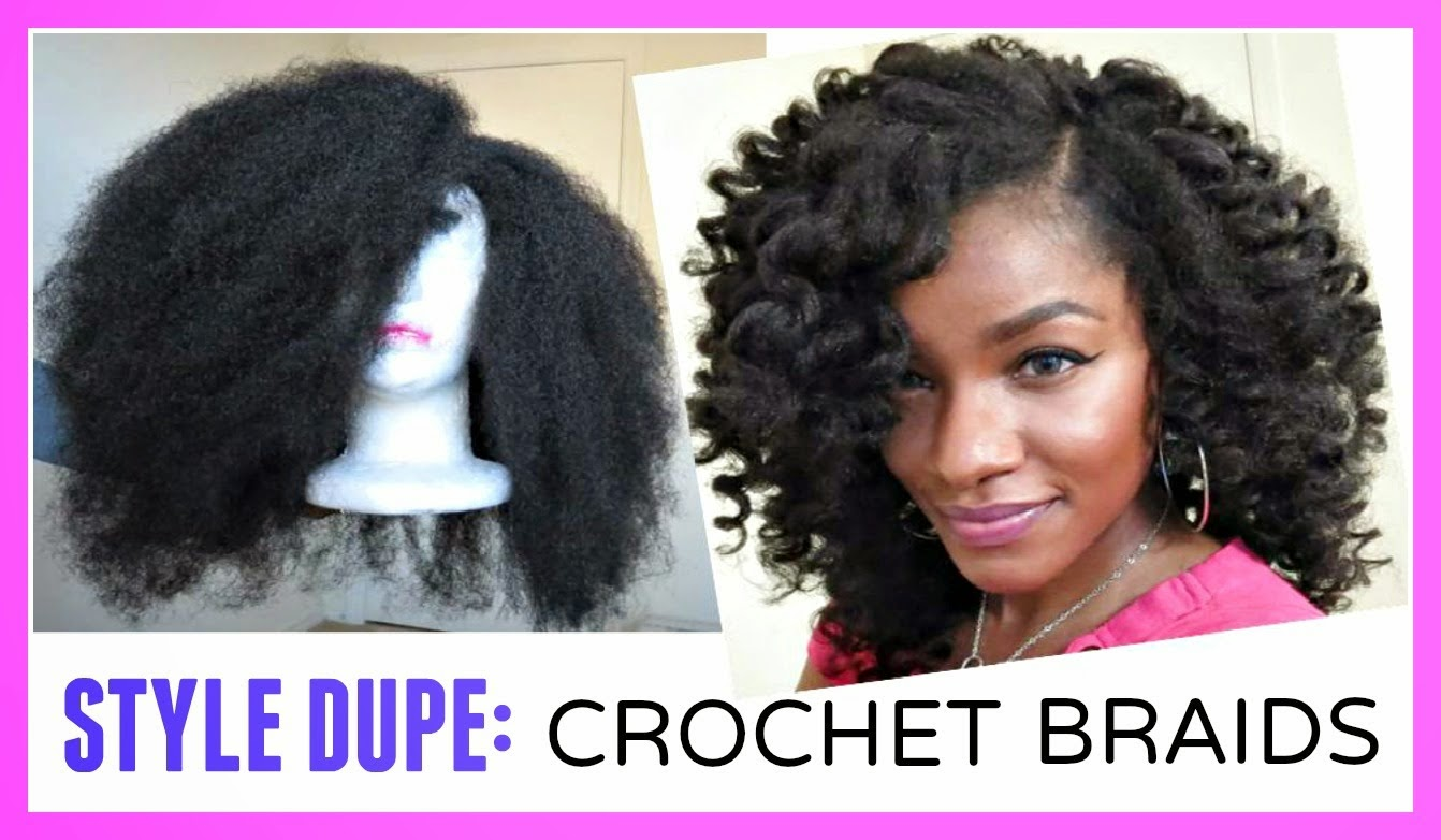 Crochet with Marley Braid Hair Wig