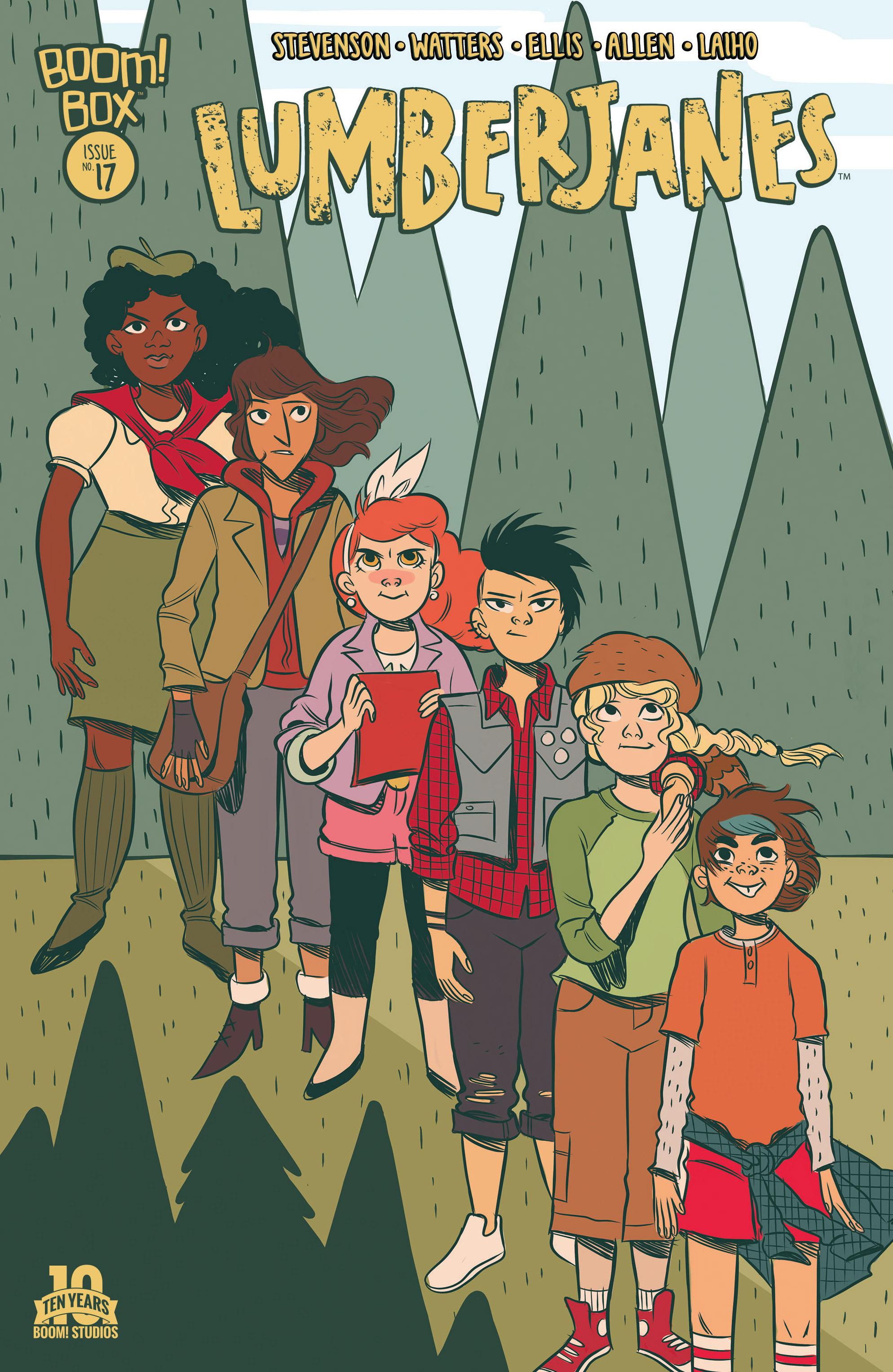 Lumberjanes 17 Page 1