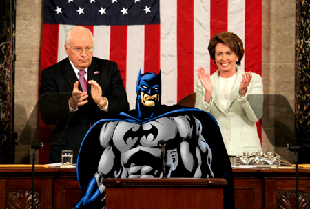 Reasons Why Batman Should Be The President.